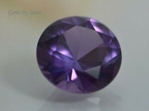 fa204d28c4558 Details about (1mm - 16mm) Round Faceted AAA Lab Created Alexandrite  Corundum