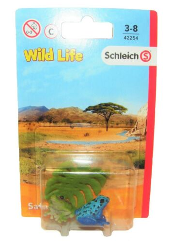 jugar /& Recoger presente los niños /& Colector Schleich 42254-Juego De Rana Wild vida