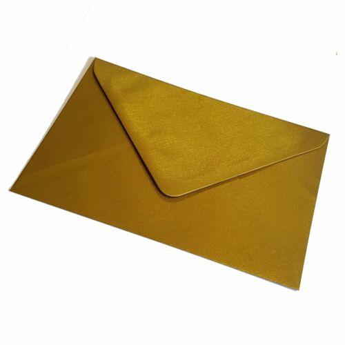 C7 Metallic Gold Envelope Fits A7 Greeting Card Invitations Mini RSVP 83 x 113mm