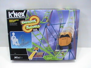 NEW-K-039-NEX-Infinite-Journey-Roller-Coaster-Building-Set-15407-construction