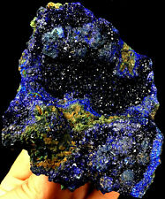 485g  RAW Complete RARE Natural Azurite & Green Malachite Specimen ic1848