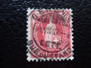 Switzerland-Stamp-Yvert-and-Tellier-N-98-Obl-A5-Stamp-Switzerland