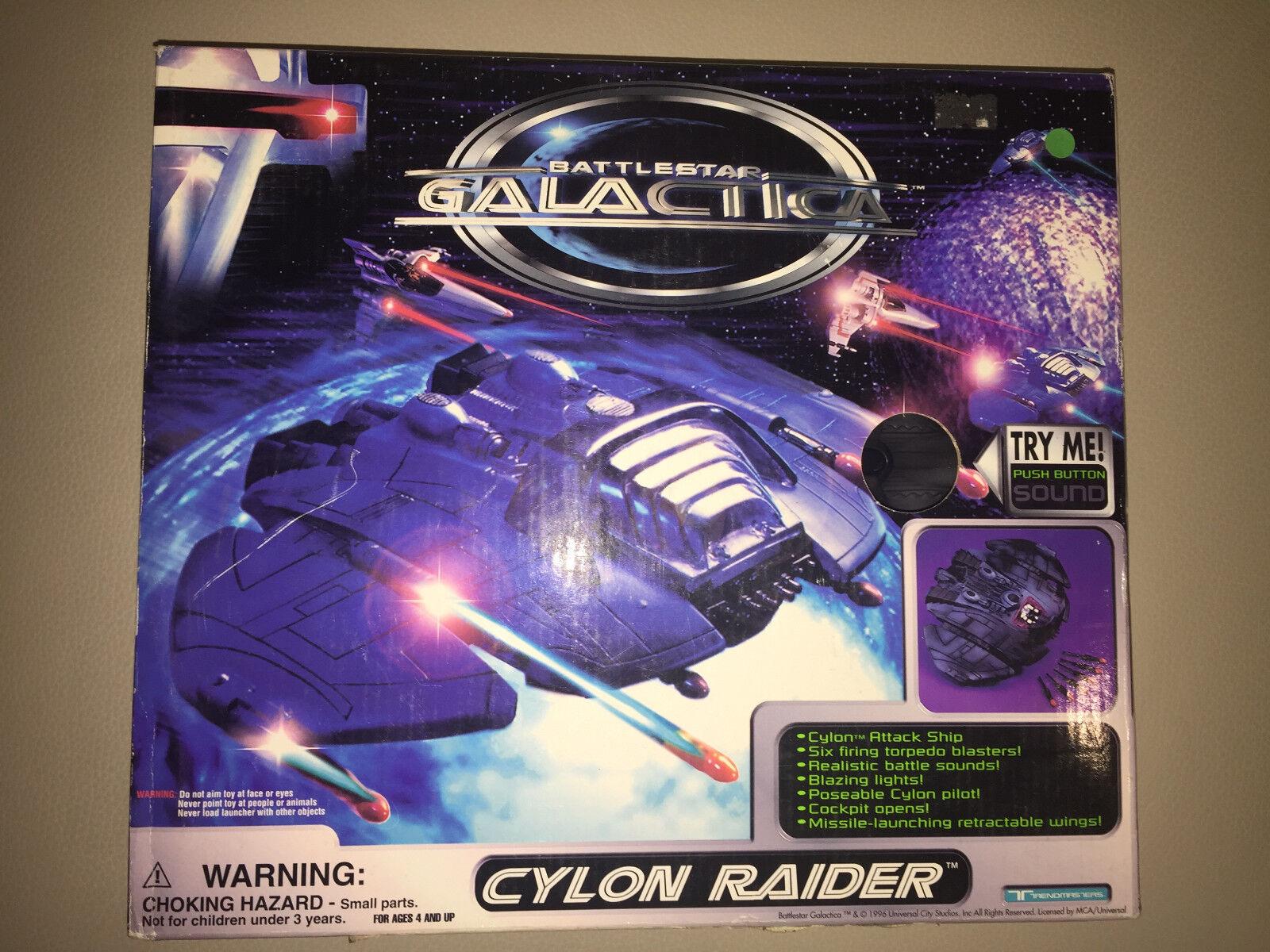 Battleestrella Galactica Cylon Raider suono Battleship modello Suoni Tremaster giocattoli