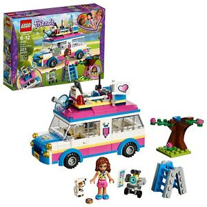 LEGO Friends Olivia's Mission Vehicle 41333 Building Set 223 Piece Toy For Kids