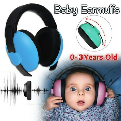Kids Ear Defenders Toddler Autism Noise Reduction Protectors Muffs Children Baby