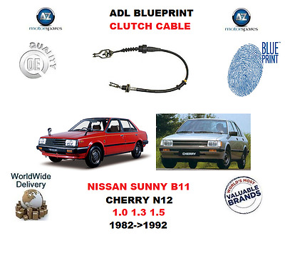 FOR NISSAN CHERRY N12 SUNNY B11 1.0 1.3 1.5 1982-92 ADL CLUTCH CABLE 3067001A00