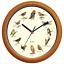 Benail-12-Inch-Bird-Song-Wall-Clock thumbnail 1
