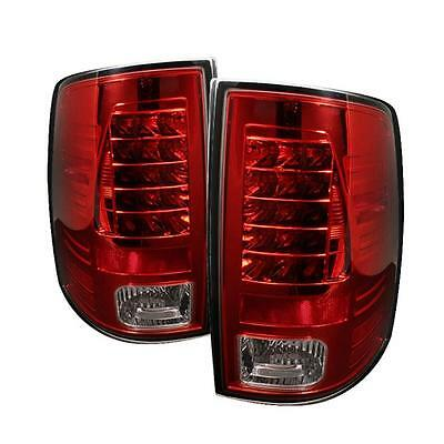 Tail Lights Dodge Ram 1500 2009-2012 Ram 2500 3500 2010-2012 LED - Red Clear
