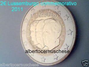 2 euro 2011 Luxembourg Luxemburg Lussemburgo Jean Henri Luxemburgo Люксембург