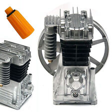 3hp Piston Style Oil Lubricated Air Compressor Pump Motor Head Air Tool 2200w Us