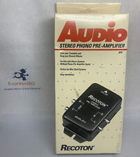 Discontinued by Manufacturer Recoton SP-2 Stereo Phonograph Preamplifier