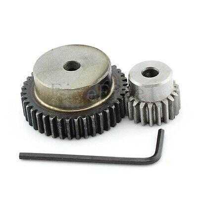 Module 0.5M60T-40T moteur 0.5 metal gear wheel set kit Ratio 3:2 empattement 25 mm
