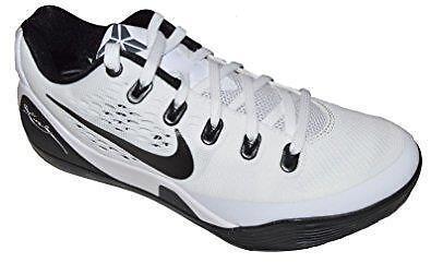 Nike Kobe 9 EM TB 685776-100 White/Black Men's Athletic Sneakers Sz 17 M   NEW
