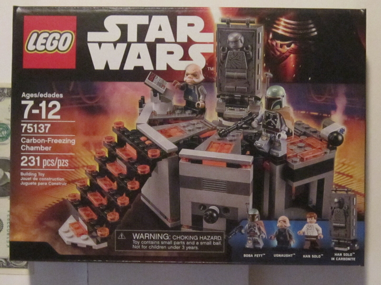 Star Wars Lego Carbon-Freezing Chamber 75137  still factory sealed