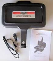 X135 The Original Slider Burger Maker Dbf-1, Black