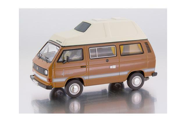 1:18 Premium ClassiXXs VW t3a WESTFALIA JOKER ad alta tetto marrone stata limitata 500st.