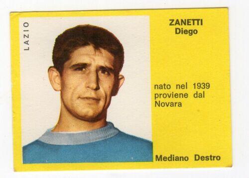 figurina CALCIATORI MIRA 1963//64 LAZIO ZANETTI