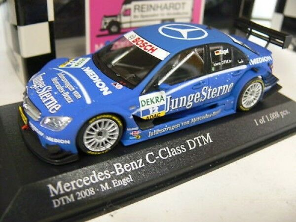 1 43 Minichamps MB C-Klasse DTM DTM DTM 2008 M.Engel  12 400083712  | Up-to-date Styling