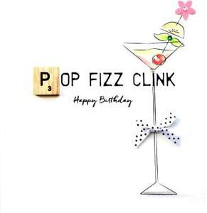 Image Is Loading Birthday Fizz Bexyboo Scrabbley Neon Card Handmade