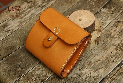 leather craft pattern short wallet pattern paper cds 01 leathercraft template