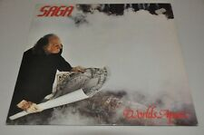 SAGA - Worlds Apart - Pop Rock 80er - Album Vinyl Schallplatte LP