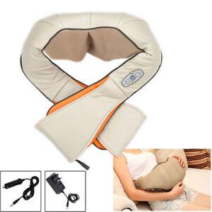 Electric-Massagers-Kneading-3D-Heat-Shoulders-Car-charger-Shiatsu-Massager-Neck