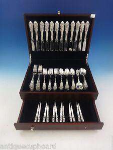 Sir Christopher von Wallace Sterling Silber Bestecke Set für 12 Service 72 teilig