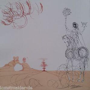 MUSEALE-Salvador-Dali-Original-Radierung-241-Tourbillon-Spirale