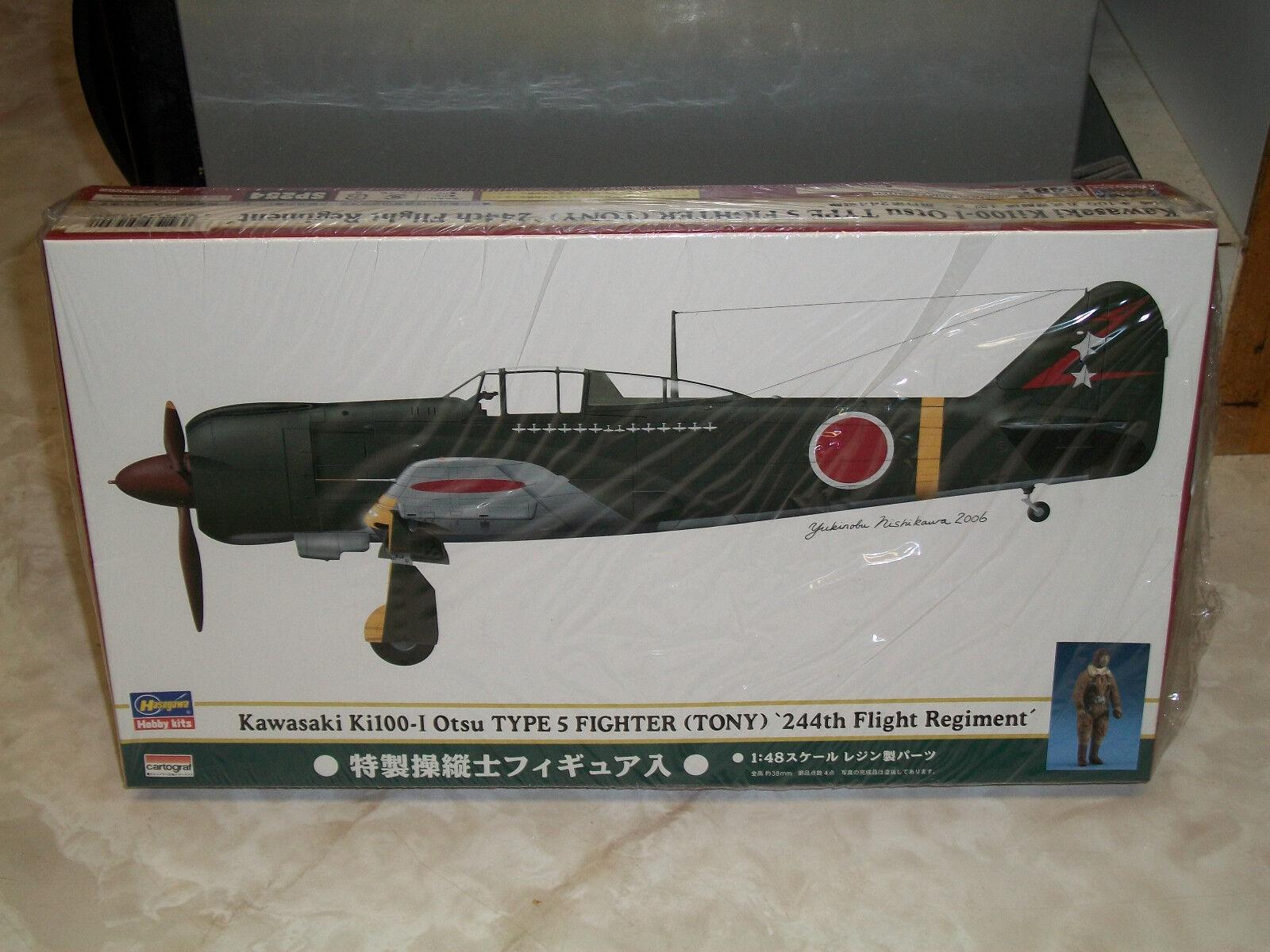 Hasegawa 1 48 Kawasaki Ki100-I Otsu Type 5 (Tony) '244th Flight Regt' - Sealed