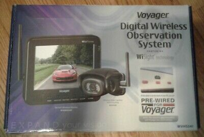 ASA WVHS541 Voyager Wireless Wisight Camera System with 5.6 Monitor for Prewired Trailers