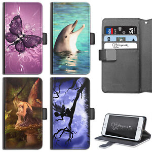 FANTASY-FAIRY-PHONE-CASE-IPHONE-6-7-8-PLUS-X-LEATHER-FLIP-CASE-COVER-FOR-APPLE