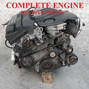 BMW-1-3-Series-e87-e90-e91-120i-320i-150HP-Bare-Engine-N46B20B-60k-m-WARRANTY