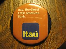 Itau Brazil Latin America Bank Re-Purposed Advertisement Pocket Lipstick Mirror