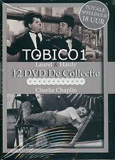 STAN LAUREL & OLIVER HARDY - CHARLIE CHAPLIN - 12 DVD BOX - NIEUW SEALED