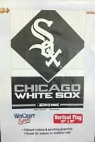 Wincraft Sports Chicago White Sox 27x 37 Vertical Banner Flag Sealed