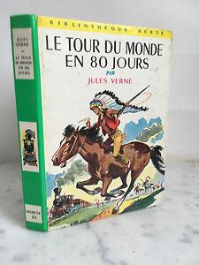 Il-Tour-Del-Monde-IN-80-Giorni-Vernel-Jules-Libreria-Verde-1947