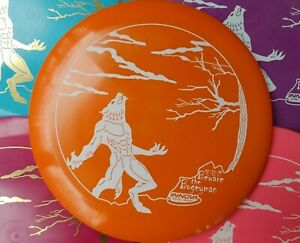 (1) New Innova Star Sidewinder 2021 Halloween Werewolf Stamp Disc Golf