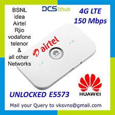 Huawei E5573 Unlocked 4G LTE MIFI HOTSPOT - Jio Airtel TATA idea BSNL voda airce