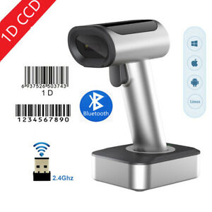 Symcode Bluetooth 2.4G Wireless  Barcode Scanner Screen Mobile Payment 1D
