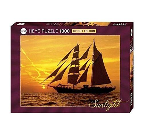 SUNLIGHT SUNNY SAILING Bright Edition Heye Puzzle 29717-1000 Pcs.