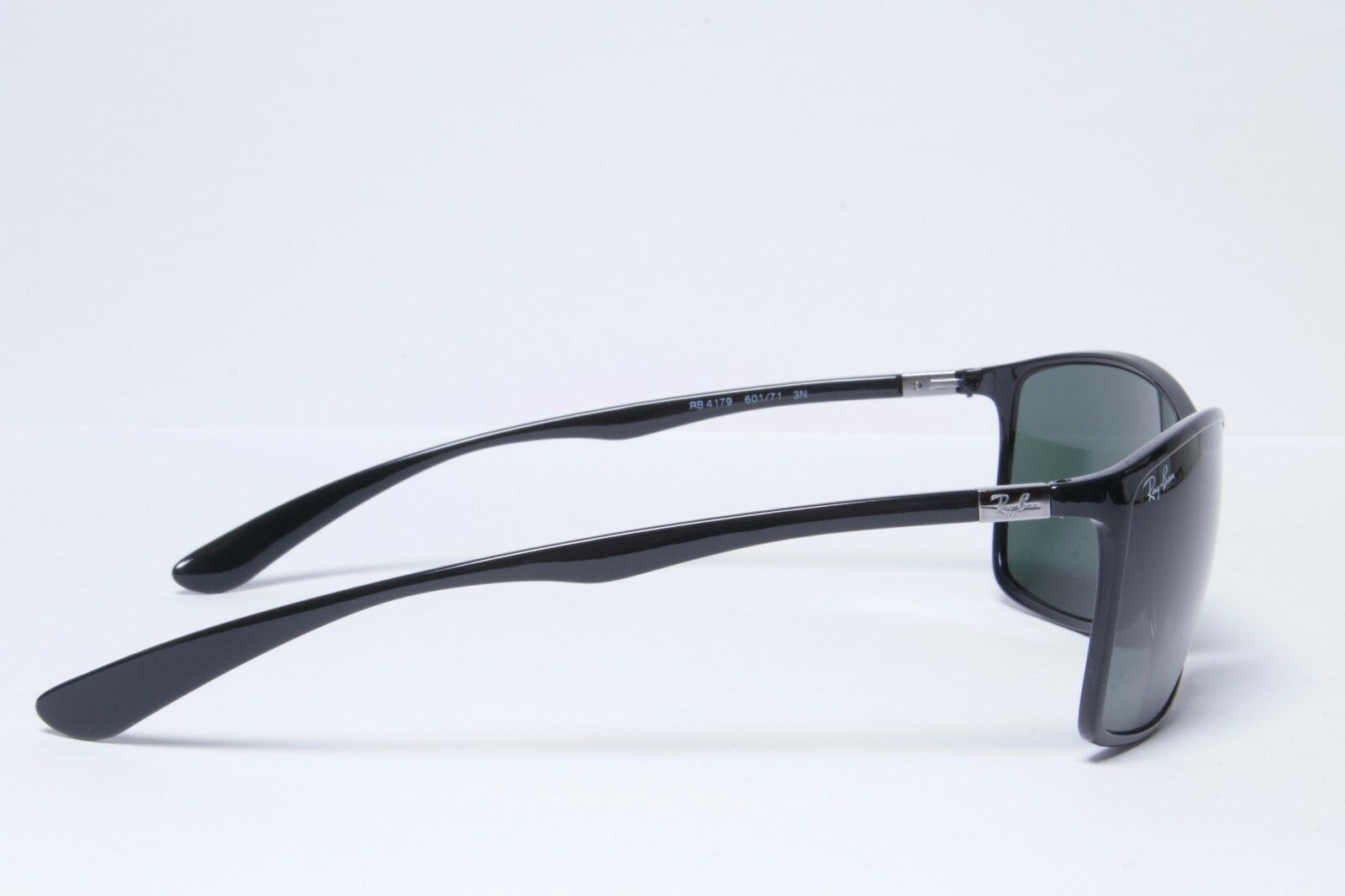 231fa9c2ec Ray-Ban Rb4179 601 71 Liteforce Sunglasses Black Frame Green Lenses 62mm  for sale online