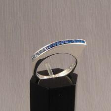 Lovenzzo Silberring mit Swarovski Kristallen Gr. 58 x