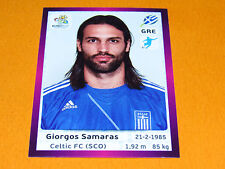 103 SAMARAS HELLAS GRECE FOOTBALL PANINI UEFA EURO 2012