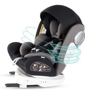 Bonio Baby Car Seat 360° Rotating Group 0+/1/2/3 (0-36 kg) with ISOFIX
