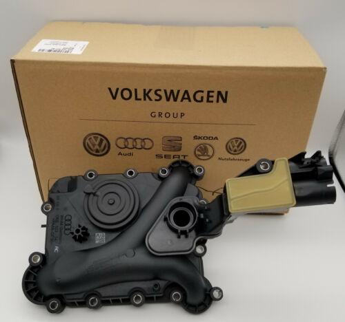 Genuine  Audi Engine Crankcase Vent Valve Oil Separator for A6 A7 S4 06E103547AC