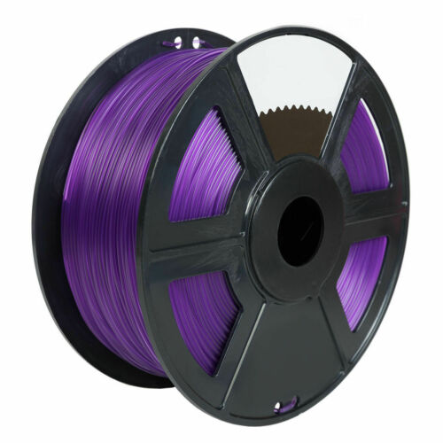 Translucent Purple 3D Printer Filament 1.75mm 1KG TPU For Print MakerBot RepRap