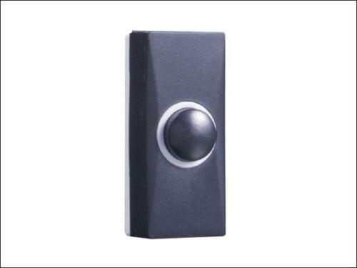 Byron - 7900 Plastic Bell Push in Black - 7900