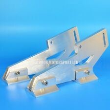 """Pair Of Universal Alloy Spoiler Mounting Brackets With Feet (approx 5"""" Inch)"""