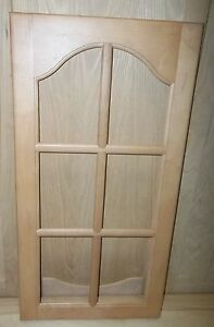 2 Mullion Frame Cabinet Doors Paint Grade Maple Cathedral