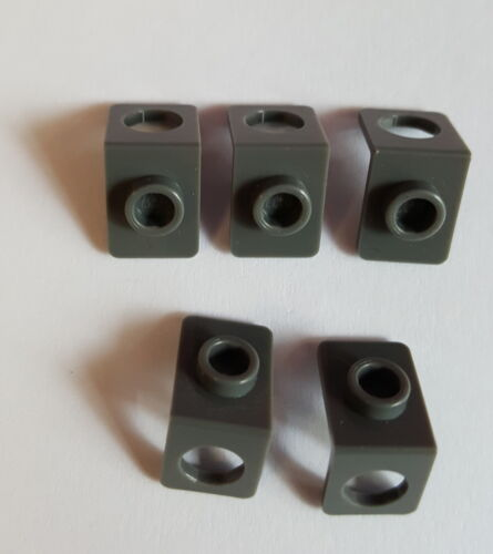 Lego 42446 Angle Bracket Snot Converter New Dark Grey 5 Piece 40 A